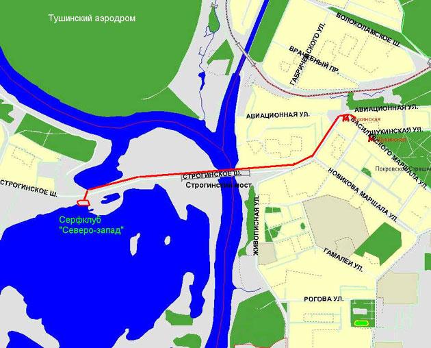 после Строгинского моста
